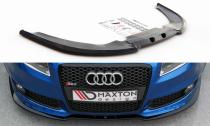 Maxton Design Spoiler předního nárazníku Audi RS4 (B7) V.2 - texturovaný plast