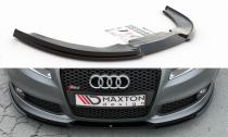 Maxton Design Spoiler předního nárazníku Audi RS4 (B7) V.1 - texturovaný plast
