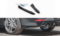 Maxton Design Boční lišty zadního nárazníku Seat Leon (5F) Cupra Facelift V.3 - texturovaný plast