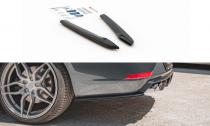 Maxton Design Boční lišty zadního nárazníku Seat Leon (5F) Cupra Facelift V.2 - texturovaný plast