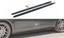Maxton Design Prahové lišty Seat Leon (5F) Cupra Facelift V.5 - texturovaný plast
