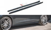 Maxton Design Prahové lišty Seat Leon (5F) Cupra Facelift V.4 - texturovaný plast