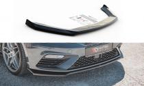 Maxton Design Spoiler předního nárazníku Seat Leon (5F) Cupra Facelift V.7 - texturovaný plast