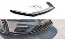 Maxton Design Spoiler předního nárazníku Seat Leon (5F) Cupra Facelift V.4 - texturovaný plast