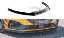 Maxton Design Spoiler předního nárazníku Ford Focus ST Mk4 V.8 - černý lesklý lak