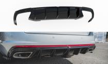 Maxton Design Spoiler zadního nárazníku Škoda Octavia III RS 2.0 TSI Liftback/Combi V.2 - texturovaný plast