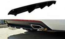 Maxton Design Lišta zadního nárazníku Škoda Octavia III RS Liftback/Combi - texturovaný plast