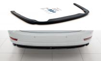Maxton Design Spoiler zadního nárazníku Škoda Octavia IV - texturovaný plast