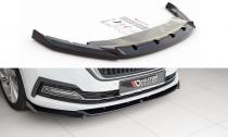 Maxton Design Spoiler předního nárazníku Škoda Octavia IV V.1 - texturovaný plast