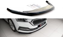 Maxton Design Spoiler předního nárazníku Škoda Octavia IV V.2 - texturovaný plast