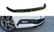 Maxton Design Spoiler předního nárazníku Škoda Superb III V.2 - texturovaný plast