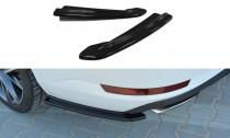 Maxton Design Boční lišty zadního nárazníku Škoda Superb III - texturovaný plast