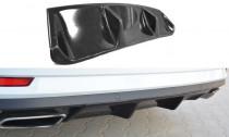 Maxton Design Spoiler zadního nárazníku Škoda Superb III - texturovaný plast