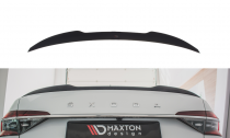 Maxton Design Lišta víka kufru Škoda Superb III Liftback V.2 - černý lesklý lak