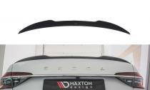 Maxton Design Lišta víka kufru Škoda Superb III Liftback V.2 - karbon