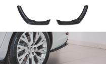 Maxton Design Boční lišty zadního nárazníku Škoda Superb III Facelift - texturovaný plast