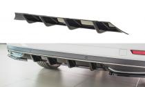 Maxton Design Spoiler zadního nárazníku Škoda Superb III Facelift - černý lesklý lak