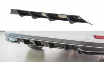 Maxton Design Spoiler zadního nárazníku Škoda Superb III Facelift - karbon