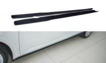 Maxton Design Prahové lišty Škoda Superb III Facelift - černý lesklý lak