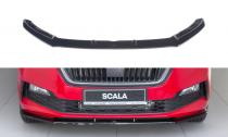 Maxton Design Spoiler předního nárazníku Škoda Scala V.1 - texturovaný plast