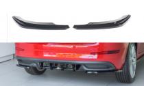 Maxton Design Boční lišty zadního nárazníku Škoda Scala - černý lesklý lak