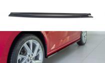 Maxton Design Prahové lišty Škoda Scala - černý lesklý lak