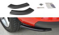 Maxton Design Boční lišty zadního nárazníku Škoda Rapid - černý lesklý lak