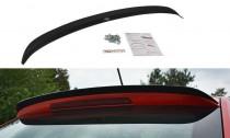 Maxton Design Nástavec střešního spoileru Škoda Rapid Spaceback - černý lesklý lak