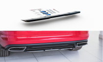 Maxton Design Lišta zadního nárazníku Škoda Kodiaq RS - černý lesklý lak