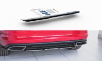 Maxton Design Lišta zadního nárazníku Škoda Kodiaq RS - karbon