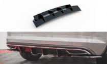 Maxton Design Zadní difuzor Škoda Kodiaq Sportline - černý lesklý lak