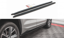 Maxton Design Prahové lišty Škoda Kodiaq Sportline/RS - texturovaný plast