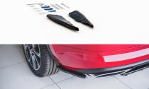Maxton Design Boční lišty zadního nárazníku Škoda Kodiaq RS - texturovaný plast