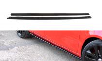 Maxton Design Prahové lišty Škoda Fabia II RS - texturovaný plast