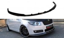 Maxton Design Spoiler předního nárazníku Škoda Fabia II - texturovaný plast