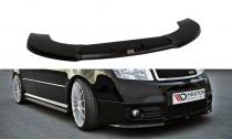 Maxton Design Spoiler předního nárazníku Škoda Fabia I RS - texturovaný plast