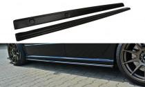 Maxton Design Prahové lišty Škoda Fabia I RS - texturovaný plast