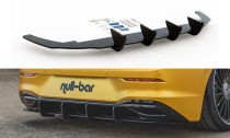 Maxton Design Zesílený zadní difuzor Racing VW Golf VIII V.1 - černá