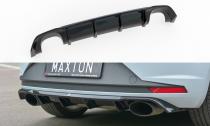 Maxton Design Spoiler zadního nárazníku Seat Leon Mk3 Cupra - texturovaný plast