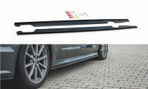 Maxton Design Prahové lišty Audi S6 (C7) / A6 S-Line (C7) Facelift - texturovaný plast
