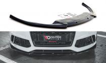 Maxton Design Spoiler předního nárazníku Audi RS6 C7 V.4 - texturovaný plast