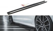 Maxton Design Prahové lišty Audi RS6 C7 V.2 - texturovaný plast
