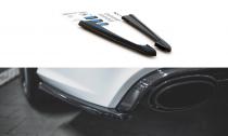 Maxton Design Boční lišty zadnáhi nárazníku Audi RS6 C7 V.2 - texturovaný plast