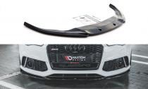 Maxton Design Spoiler předního nárazníku Audi RS6 C7 V.3 - texturovaný plast