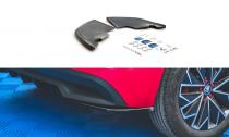 Maxton Design Boční lišty zadního nárazníku Škoda Kamiq - texturovaný plast