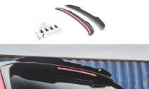 Maxton Design Nástavec střešního spoileru Škoda Kamiq - texturovaný plast