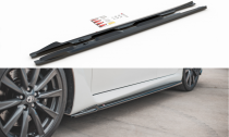 Maxton Design Prahové lišty Lexus IS F Mk2 - texturovaný plast