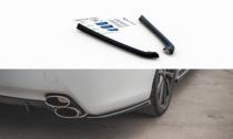 Maxton Design Boční lišty zadního nárazníku Lexus IS F Mk2 - texturovaný plast