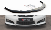 Maxton Design Spoiler předního nárazníku Lexus IS F Mk2 V.2 - texturovaný plast