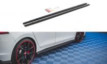 Maxton Design Prahové lišty VW Golf VIII GTI - texturovaný plast